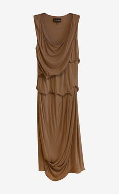 Emporio Armani Taupe Dress