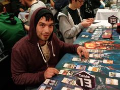 Deck construction at at Epic Gaming's FRF Midnight Pre-Release!