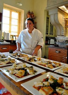 The Lady of Lunch Lady Catering, Chef Kris Fichtner