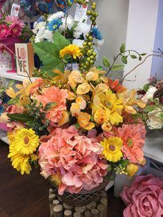Spring design by Silk Florals
