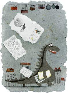 'The green dragon' by Violeta Dabija