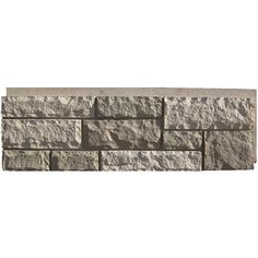 Shop NextStone Desert Buff Rock Faux Stone Veneer Panels at Lowes.com