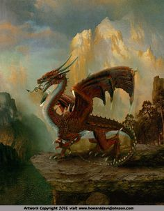 Affordable Fantasy Book Cover Illustration; Realistic Cover Paintings of Howard…