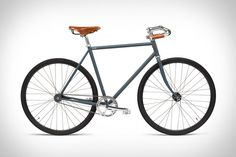 With a style that takes notes from the early café racer scene, the Handsome x Blue Dot Bike is a minimalist rider with all the right accessories. It's single speed with coaster brakes, Brooks saddle, and gripped mustache handlebars. The...