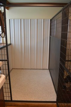 """Achieving Dog Training Success With The 18 """"Don'ts"""" Rules Shelter Dogs, Animal Shelter, Small Dog Cage, Dog Kennel Designs, Kennel Ideas, K9 Kennels, Puppy Room, Puppies Tips, Foster Dog"""