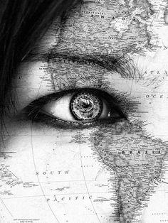 Eye on the world.