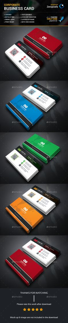 Business Card — Photoshop PSD #both side design #pack • Available here → https://graphicriver.net/item/business-card/16336292?ref=pxcr