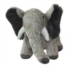 Mighty Toy Safari Elephant - Ellie - Safari (Dogs Over 20 Lbs) - VIP Products