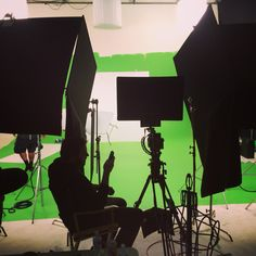 Chromakey Shoot in Stage A