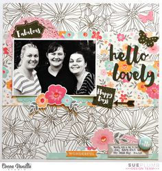 Hello Lovely - Scrapbook.com
