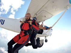 #skydiving #skydive #tandemjump #tandemskydive #tandemskydiving #cessna #cessna172 #freefall #adrenaline #bucketlist #timisoara #arad #oradea #romania #parachute #uptvector #diverdriver #gojumpro Tandem Jump, Cessna 172, Skydiving, Club, Romania, Fighter Jets, Baby Strollers, Baby Prams, Prams