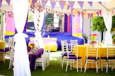 I love everything about this Tangled/Rapunzel Party!!