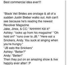 black veil brides funny quotes - Google Search