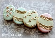 Easter egg cookies | Cookie Connection