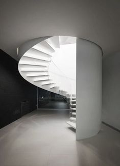 architectural staircase: