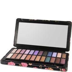Paleta de 24 Sombras de Ojos - Dark Smoky - IDC Color Makeup | beauteprivee.es