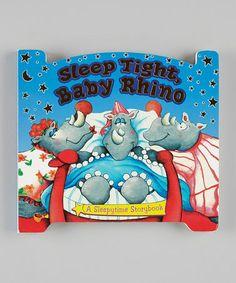 Sleep Tight, Baby Rhino Board Book #zulilyfinds @Nicole Resch Sperber