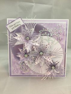 Four petal flower and Everyday Flourish Birthday Cards For Women, Happy Birthday Cards, Chloes Creative Cards, Stamps By Chloe, Craftwork Cards, Fancy Fold Cards, Pretty Cards, Card Maker, Flower Cards