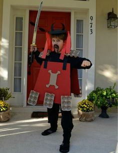 Samurai warrior Halloween costume