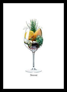 Quadro Poster Vinhos e Sabores Spatburgunder - Decor10