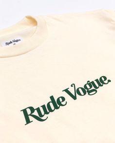 New T Shirt Design, Tee Shirt Designs, Clothing Logo, Vintage Branding, Urban Outfits, Apparel Design, Tee Shirts, Tees, Tshirt Branding