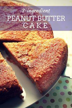 Peanut Butter Cake Pinterest