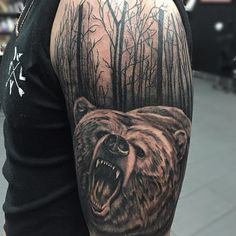 nice Top 100 bear tattoo - http://4develop.com.ua/top-100-bear-tattoo/