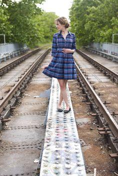 Adorable Shirt Dress! (Lisette traveler dress - Simplicity 2246