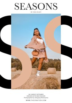Model: Candice September Wardrobe: Teens by The Box Photography: The Craft ZA Exploring Autumn Hay Bales and Fashion The Craft Media 2021 Hay Bales, Exploring, September, Teen, Autumn, Seasons, Film, Box, Model