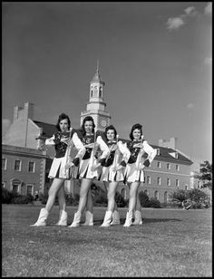 [Marching Band - Four Majorettes #1]