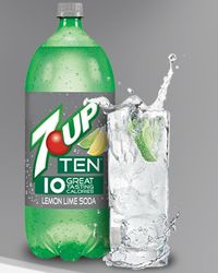 FREE 2-liter Bottle of 7-Up Ten, A