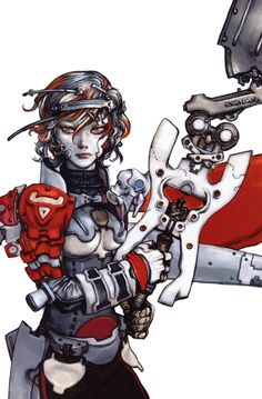 """Scan from """"Dragon Girl & Monkey King"""", Katsuya Terada. Click picture for HD scan."""