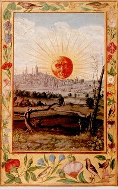 The Splendor Solis. Alchemical manuscript. German. 1532-35