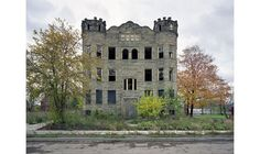 Luben Apartments  also called the Castle Building, Detroit Michigan was demolished November 28, 2010,