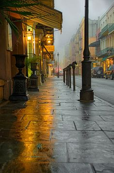 ~~Pick A Side: Light or Dark | An early foggy morning shot from New Orleans' French Quarter, Louisiana | by Dr_Fu_Manchu~~