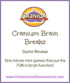 Cranium Brain Breaks 200 mini games review!                                                                                                                                                                                 More