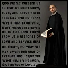 Saint Ignatius of Loyola's Quote