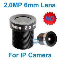 Free shipping 2.0MP 6mm CCTV camera lens IR lens M12 1080P Fix lens for CCTV security camera install CCD CMOS IP camera system