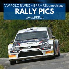at: Baumschlager Rallye & Racing - Mitsubishi - Ralliart - Skoda Vw Polo R Wrc, Volkswagen, Sport, Champion, Racing, Cars, Autos, Rally, Running