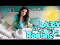 What girls do on the weekends?! | Lazy Morning Routine - YouTube