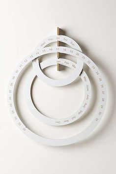 Anthropologie - Perpetual Ring Calendar