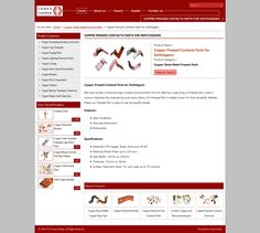Copper pressed contacts parts for switchgears by conexcoppe via slideshare