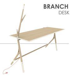 Branch desk by Anna Prokhorova