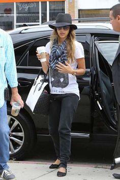 Jessica Alba july 10 LA