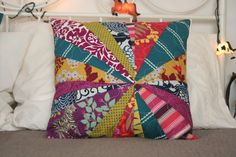 Miss Make: quilted pillow