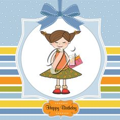 excited young girl she hide a special gift, vector illustration Gift Vector, Birthday Clipart, Clipart Images, Royalty Free Images, Special Gifts, Clip Art, Kids Rugs, Illustration, Kid Friendly Rugs