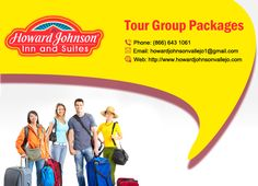 Tour Groups are warmly welcomed! Howard Johnson Inn & Suites Vallejo offers customized packages for local, regional, national, and international tour groups. http://goo.gl/zXo9Xu
