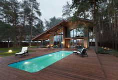 Surprisingly, I love this... not my usual style. Chalet 2.0 by YOD Design Lab
