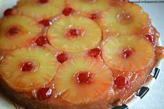 Pineapple Upside Down Cheesecake - Hugs and Cookies XOXO