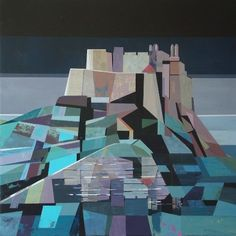The Biscuit Factory: Judith Appleby - The Biscuit Factory Landscape Quilts, Commercial Art, 2d Art, Design Crafts, Newcastle, Artist At Work, Moonlight, Art Gallery, Arts And Crafts